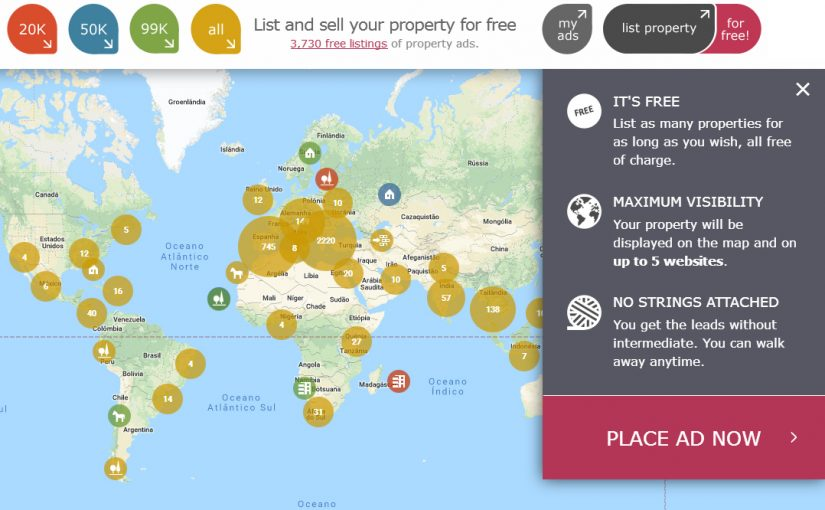 The lack of a single European Property Website