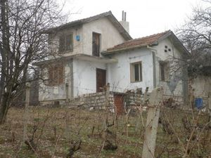 An old villa located in a villa zone near forest