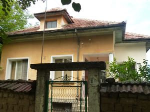 Two country houses with big plot of land located in village