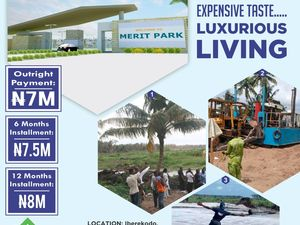 Merit Park Iberekodo, along The Lekki Free Trade Zone Road.