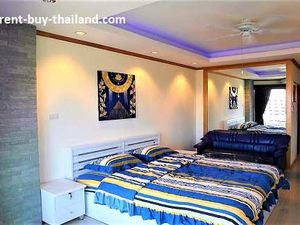 View Talay 1 condo rentals - top floor studio with sea view!