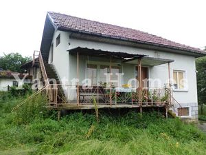 House with panoramic views located in a small village