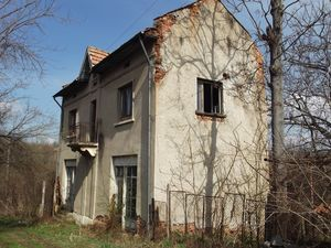 Old rural property with land in a village 110 km from Sofia