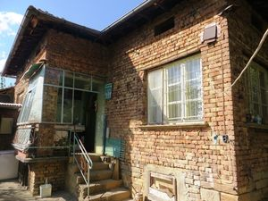 A solid, brick built 2 bedrooms house.
