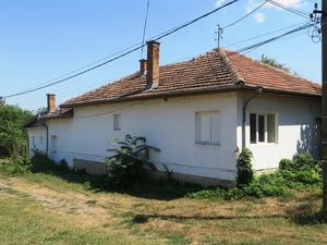 A renovated 2 bedrooms house with a private garden.