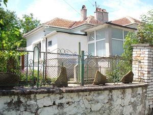 Bulgarian property with garden, garage and outbuilding