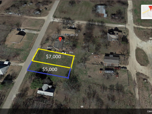 2 LOTS FOR SALE IN MART TEXAS!!!