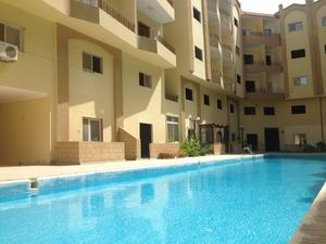 1 bed for sale in a compound with a pool