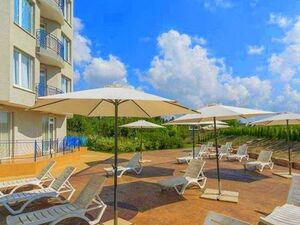 Low price! Spacious apartment in a quiet part of Sunny beach