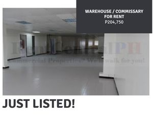 Warehouse for rent Lease in Pasig City Philippines