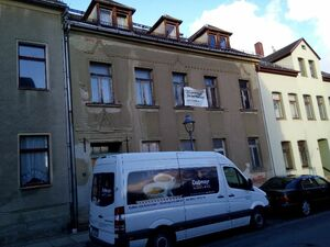 3 apparments house in Reichenbach Vogtland cheap