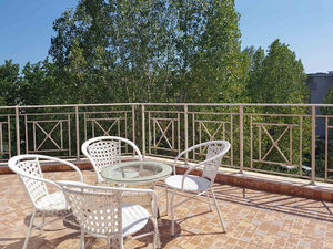 Studio apartment with large terrace and beautiful views