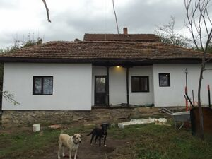 Renovated rural house with plot of land near forest & stream