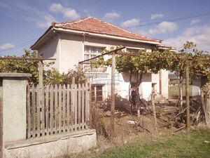House for sale with garden 2100sq.m30 min driving to Plovdiv