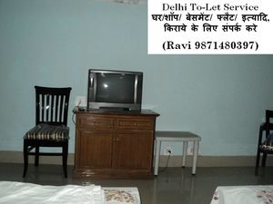 2bhk flat for rent in chattarpur please call me