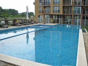 Bargain! 1 BED partly furnished apartment in Sunny beach