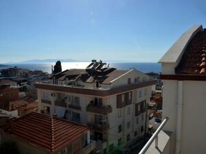 130 m2 SeaSide Sea view New  Duplex Apartment in izmir