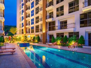 City Garden Pratumnak Condominium In Cosy Beeach