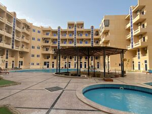 """Furnished STUDIO Apartment with balcony-Pool view, """"Tiba Res"""