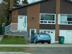 Lovely 3 beds 1 bath house for rent in Brampton