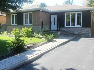 Cozy 3 beds 1 bath house for rent in Richmond Hill