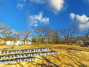 3 lots, 0.27 acres ready to build, in Quinlan - TX 75474