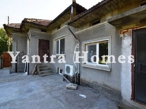 Partly renovated house with a big garden in Pavel