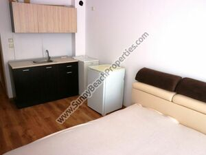 Pool view furnished studio for sale Sunny day 6 Sunny beach