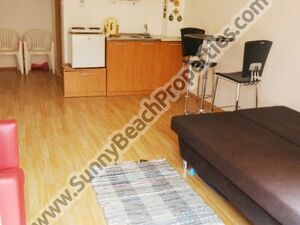 Pool view furnished studio for sale Sunny day 6 Sunn beach