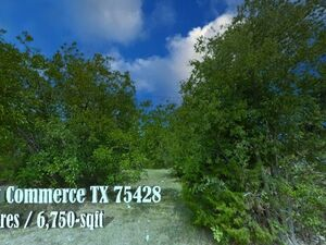Beautiful 0.16 Acre Lot in Commerce