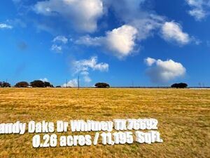 Relax at Lake Whitney in this Ready to Build Lot