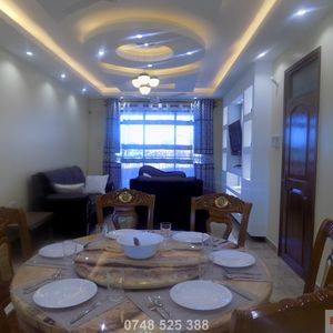 3 Bedroom Furnished Apartment Master Ensuite, Nyali(K1)