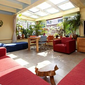 Private Houseboat Apartment with garden and terrace.