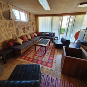 Faraya chalet with fireplace and terrace for rent.