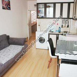 Furnished studio for sale Sunny day 5 3km from Sunny beach