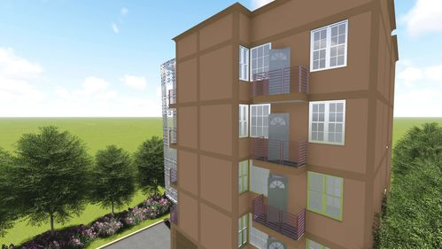 Beautiful One Bedroom Apartment Under Construction In