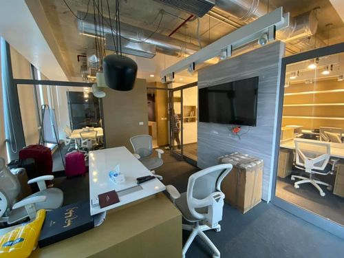 office in capital busines